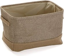 Storage Fabric Basket Brambly Cottage Colour: Brown