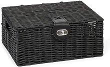 Storage Hamper Wire Basket August Grove