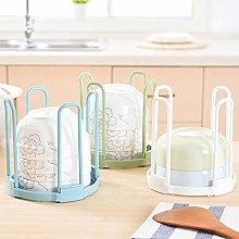 Storage & Organization Plastic Draining Rack Bowl