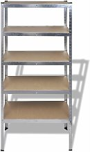 Storage Rack Garage Storage Shelf 5pcs QAH14739
