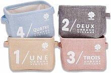 Storage Set Small Baby Linen (Beige, Gray, Pink,