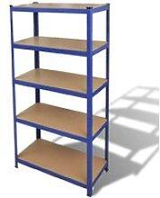 Storage Shelf Garage Storage Organizer Blue VD03830