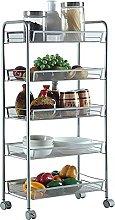 Storage Shelf Kitchen Storage Trolleys Rolling