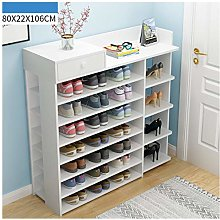 Storage Shoe Cabinet Household Economical Solid
