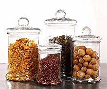 Storage Tank Storage Jar Transparent Cookie Jar