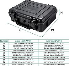 Storage Toolbox 7 Sizes Waterproof Hard Carry Case