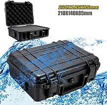 Storage Toolbox Waterproof Hard Carry Tool Case