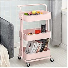 Storage Trolley Cart, Mobile Rolling Utility Cart