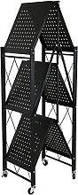 Storage Trolleys Black Steel Column Storage