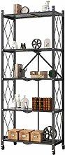 Storage Trolleys ZXM 5 Tier Storage Shelf Home