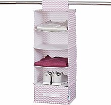 STORE.IT Hanging Organiser with Drawer, Pink