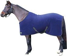 StormX Original Horse Fleece Rug (5´) (Navy/Grey)