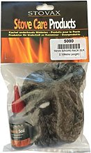 STOVAX 14mm Black Rope Stove Door Seal Kit with