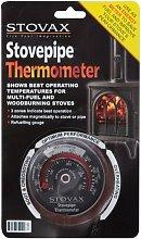 STOVAX STOVE FLUE PIPE THERMOMETER TEMPERATURE