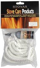 Stovax Stove Rope 6mm White 2 Metres & Glue