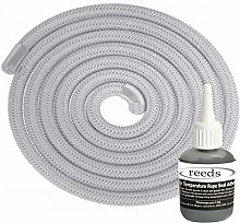 Stove Rope Kit 12mm x 2m Long with Reeds Adhesive
