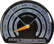 Stove Thermometer Magnetic Wooden Stove Fireplace