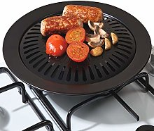 Stove Top Grill Non-Stick Coated Iron Fry BBQ
