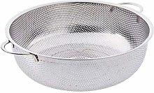 Strainer Basket Stainless Steel Sieve Pasta Sifter