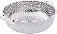 Strainer Basket Stainless Steel Sieve Pasta Sifter