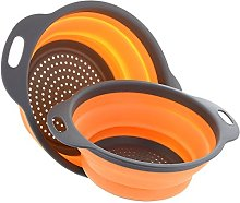 Strainer Collapsible, Non-toxic, Set of