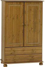 Strand - Solid Wood 2 Door 2 Drawer Wardrobe -