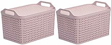 Strata Home & Kitchen Pink Recyclable Medium Handy