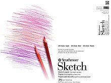 Strathmore STR-455-5 100 Sheet Sketch Pad 14 by 17