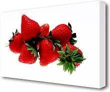 Strawberry Mountain Kitchen Canvas Print Wall Art