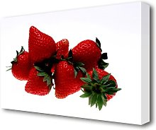 Strawberry Pick Kitchen Canvas Print Wall Art East