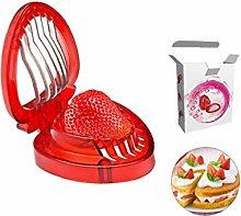 Strawberry Slicer Tool Huller Cutter Egg Divider