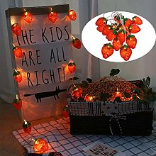 Strawberry String Light Led Red Fruit Fairy Light