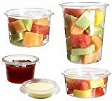 Streetfood Packaging (2oz)[50 PCS] Deli Pots With