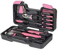 Streetwize Accessories 39 Piece Pink Tool Kit