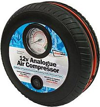 Streetwize Accessories Tyre Shape 250Psi Air