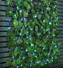 Streetwize Solar Expanding Light Up Faux Trellis