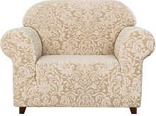 Stretch Box Cushion Armchair Slipcover Astoria