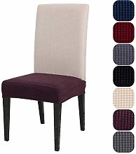 Stretch Chair Seat Covers, Jacquard Desk Chair