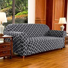 Stretch Cloud Pattern Sofa Slipcovers Canora Grey