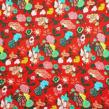 Stretch Fabric by The metre UK Floral Prints