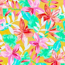 Stretch Fabric by The metre UK Tropical Jungle