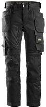 STRETCH HOLSTER TROUSER BLACK REG LEG SIZE 46 -