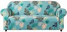 Stretch Leaf Printed Sofa Slipcovers Bay Isle Home