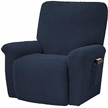 Stretch Recliner Sofa Slipcover with Pockets ,