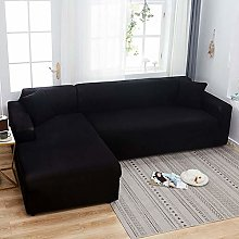 Stretch Sectional Sofa Covers L Shape for 1/2/3/4