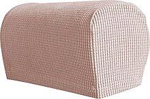 Stretch Sofa Armrest Covers Set Of 2, Soft Spandex