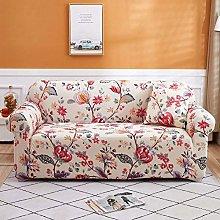 Stretch Sofa Cover 2 Seater Printed Elastic Fabric