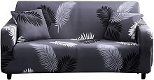Stretch Sofa Covers 1-Piece Printed Couch Cover