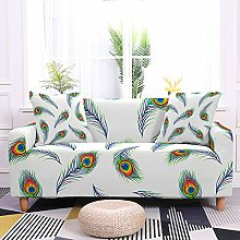 Stretch Sofa Covers,Feather Printed Stretch Couch