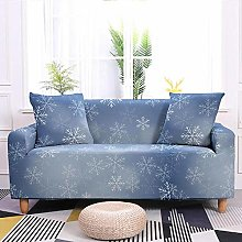 Stretch Sofa Covers,Snowflake Printed Stretch